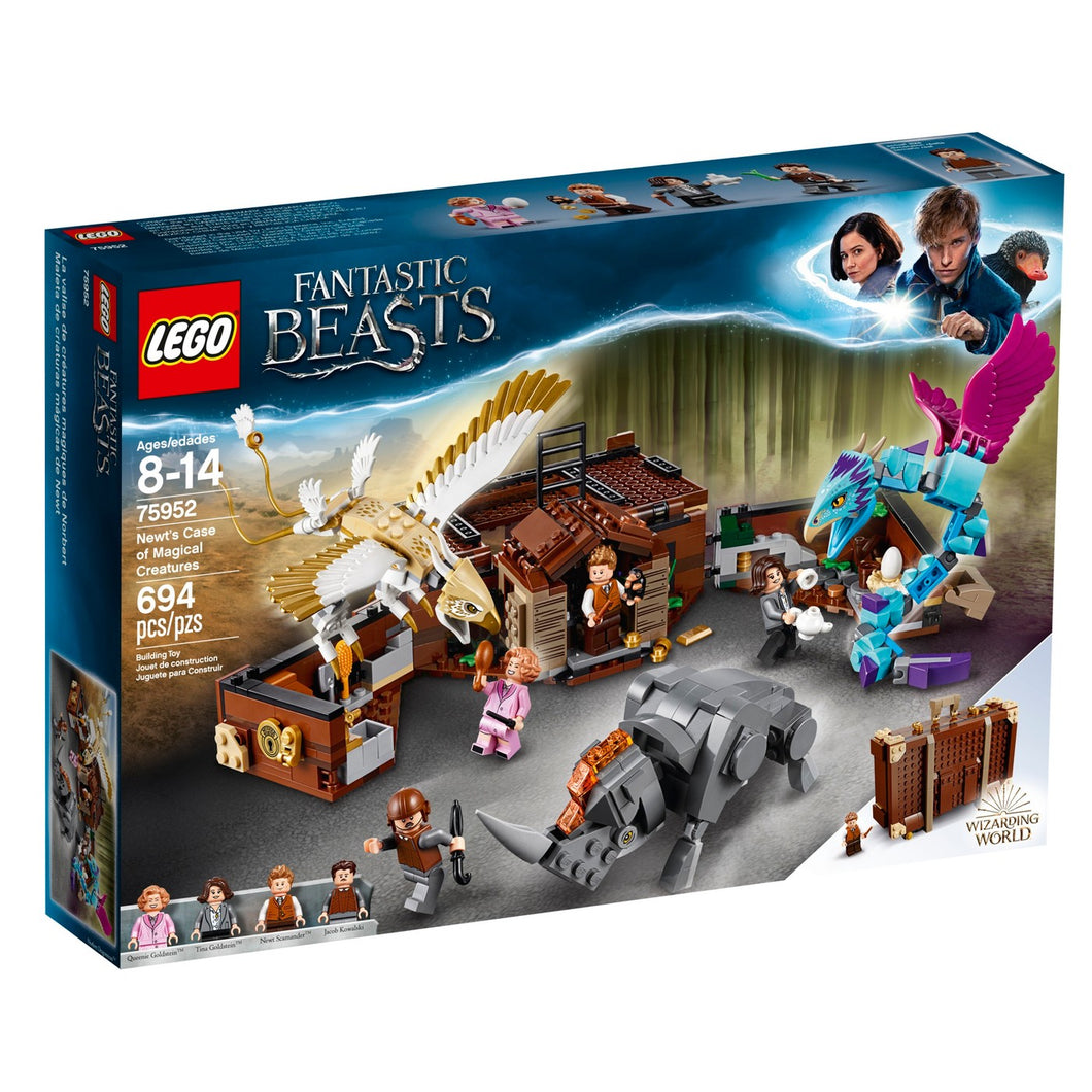 LEGO® Harry Potter 75952 Fantastic Beasts Newt's Case of Magical Creatures (654 pieces)
