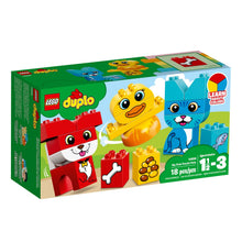 Load image into Gallery viewer, LEGO® DUPLO® 10858 My First Puzzle Pets (18 pieces)