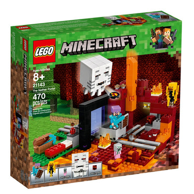 LEGO® Minecraft 21143 The Nether Portal (470 pieces)