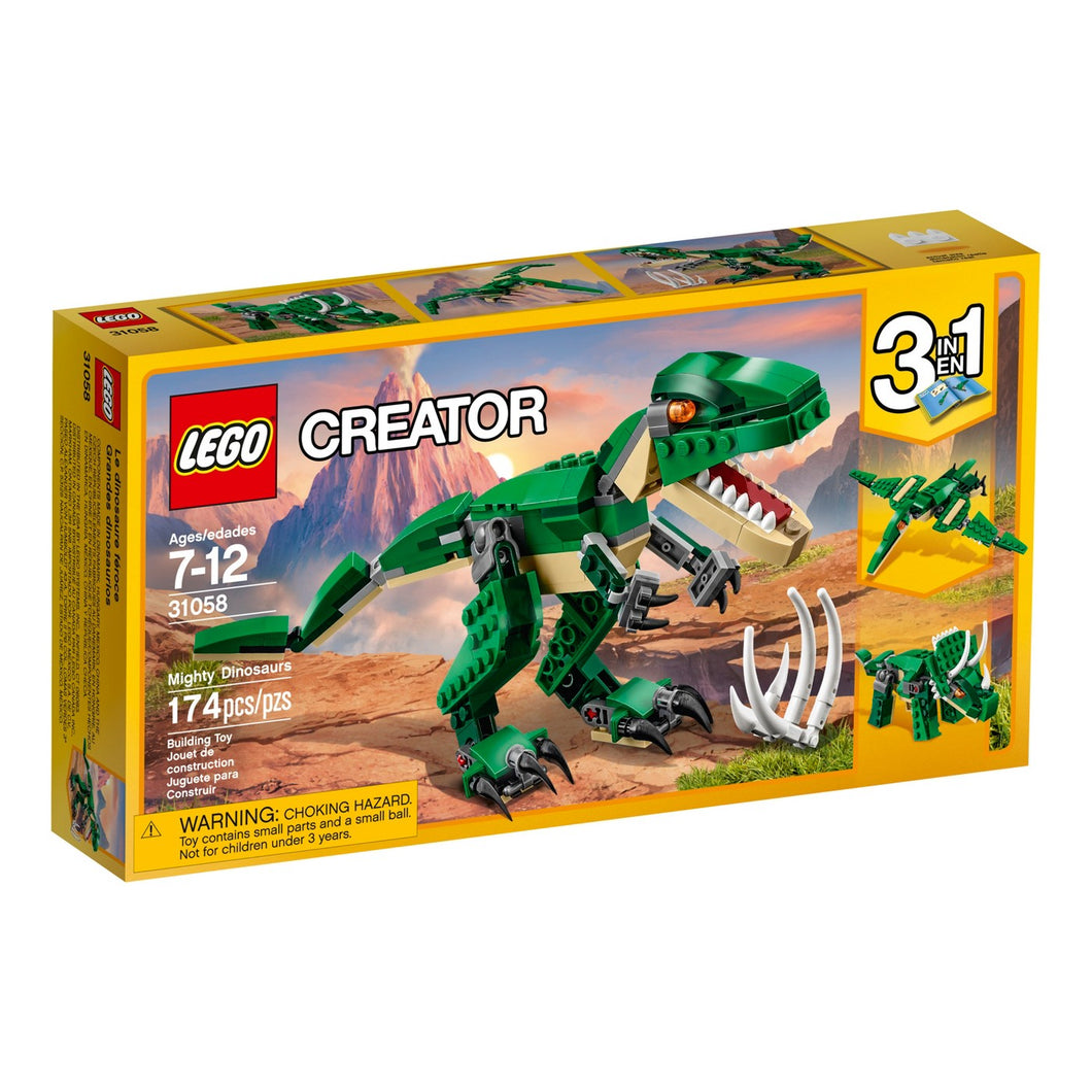 LEGO® Creator 31058 Mighty Dinosaurs (174 pieces)