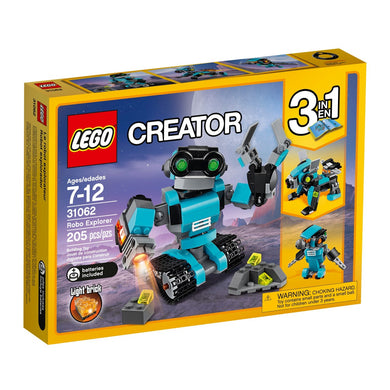 LEGO® Creator 31062 Robo Explorer (205 pieces)