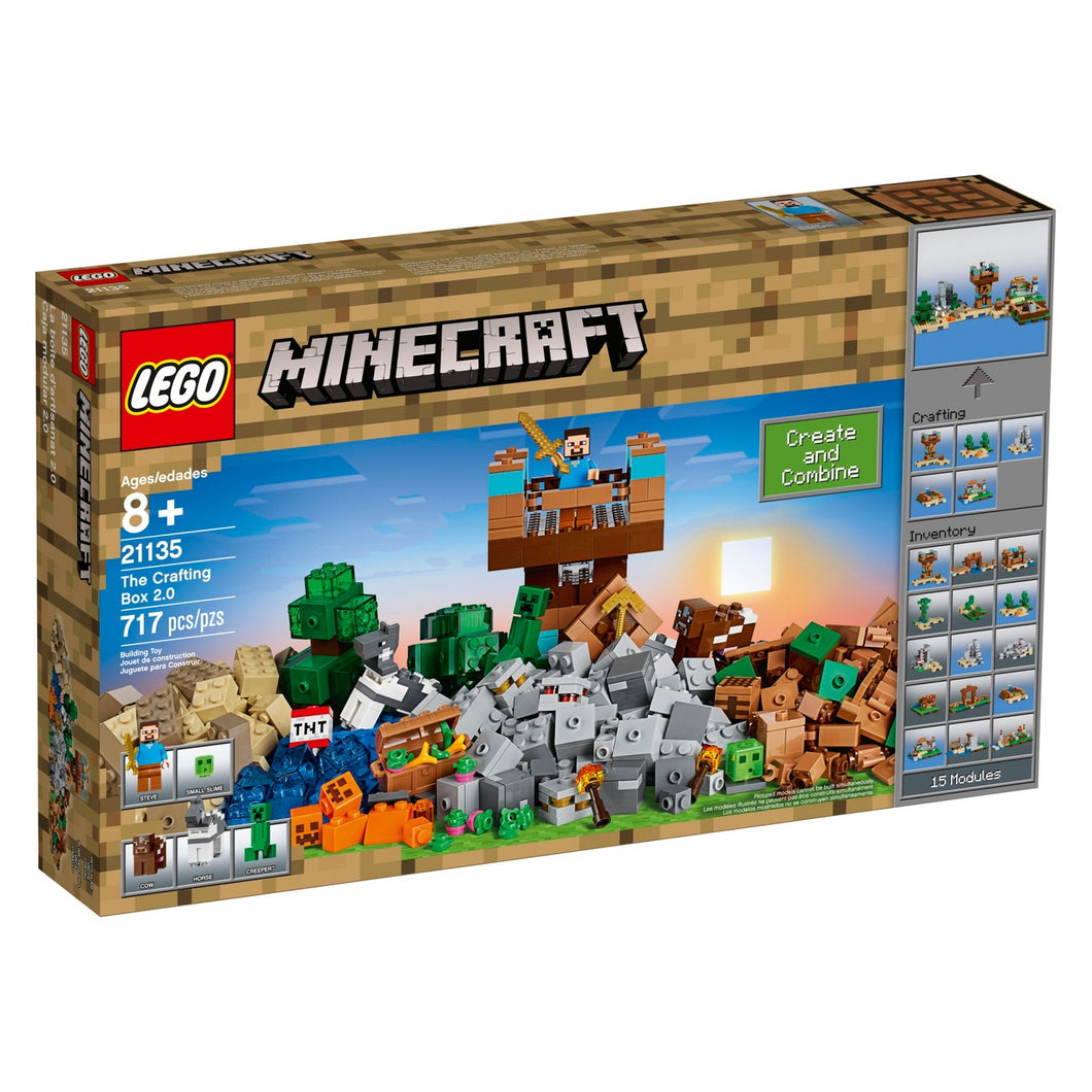 LEGO® Minecraft 21135 The Crafting Box 2.0 (717 pieces)