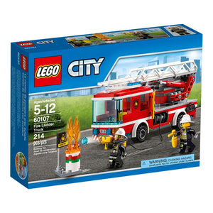 LEGO® CITY 60107 Fire Ladder Truck (214 pieces)