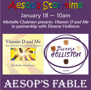 January 18 ~ Aesop's Storytime in partnership with Diverse Holliston (Registration)