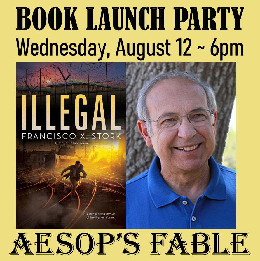 August 12 ~ Book Launch with Francisco X. Stork