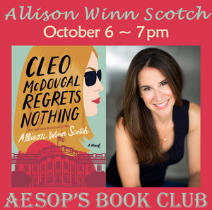 October 6 ~ An Evening with Allison Winn Scotch