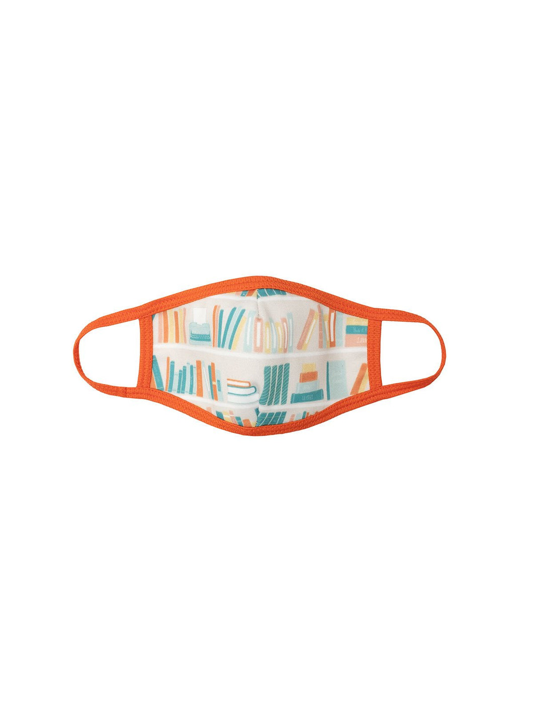 Bookshelf face mask