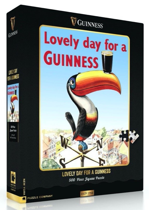 Lovely Day for a Guinness Jigsaw Puzzle (500 pieces)