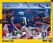Load image into Gallery viewer, Ocean Life Puzzle (500 pieces)