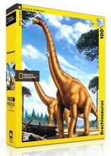Load image into Gallery viewer, Brachiosaurus Puzzle (100 pieces)