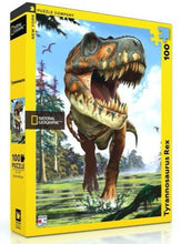Load image into Gallery viewer, Tyrannosaurus Rex Puzzle (100 pieces)