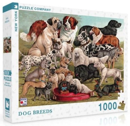 Dog Breeds Puzzle (1000 pieces)