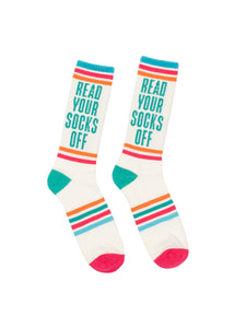 Read Your Socks Off gym socks (Adult)
