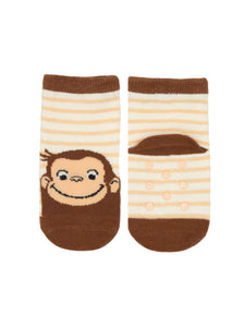 Curious George Toddler Socks (12-24M)