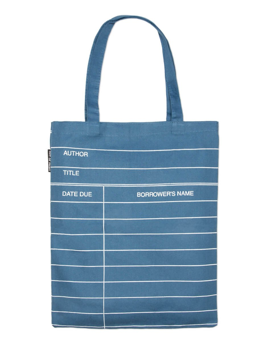 Library Card Tote Bag (14