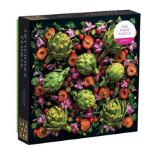 Load image into Gallery viewer, Artichoke Floral Puzzle (500 pieces)