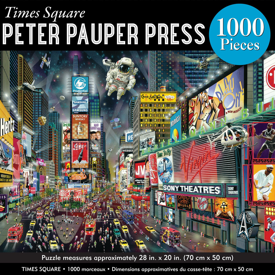 Times Square Jigsaw Puzzle (1000 pieces)