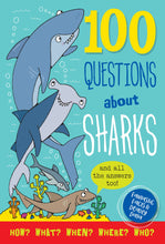Load image into Gallery viewer, 100 Questions About Sharks