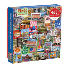 Load image into Gallery viewer, Snapshots of America Puzzle (500 pieces)