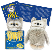 Load image into Gallery viewer, Owl Rescue Kit (Book + Plush)