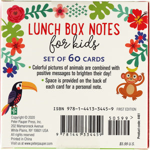 Lunch Box Notes for Kids (60 pack)