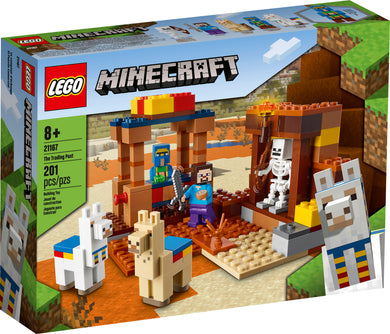LEGO® Minecraft 21167 The Trading Post (201 pieces)