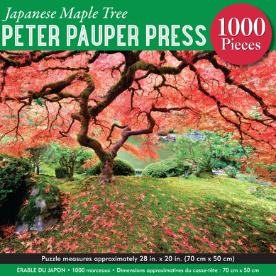 Japanese Maple Tree Jigsaw Puzzle (1000 pieces)