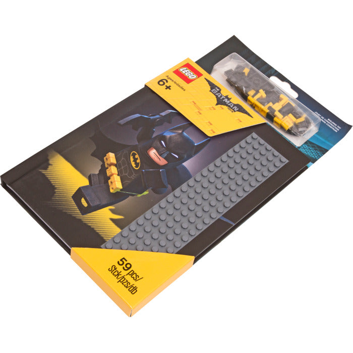 LEGO® Notebook with Studs - The LEGO® Batman Movie (59 pieces)