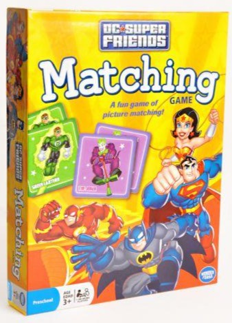 DC Super Friends Matching Game