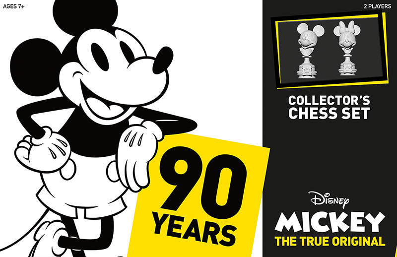 Disney Mickey: The True Original Collector's Chess Set