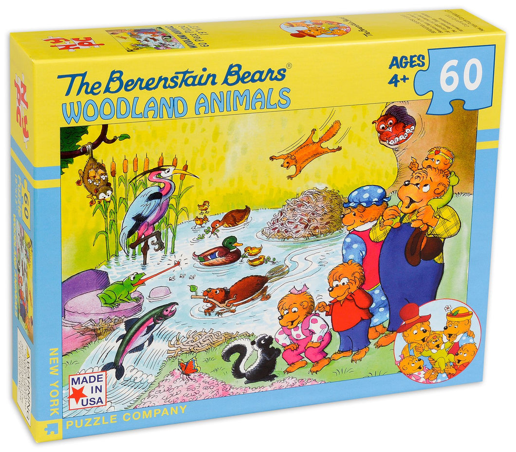 The Berenstain Bears - Woodland Animals (60 pieces)