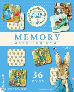 Beatrix Potter's Peter Rabbit Memory Game