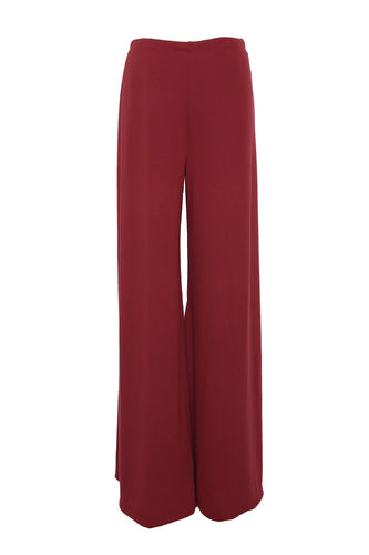 jersey pair of flares red
