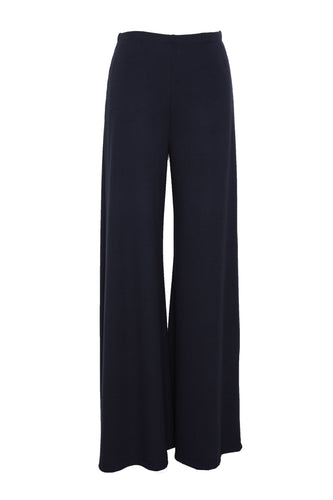 jersey pair of flares blue