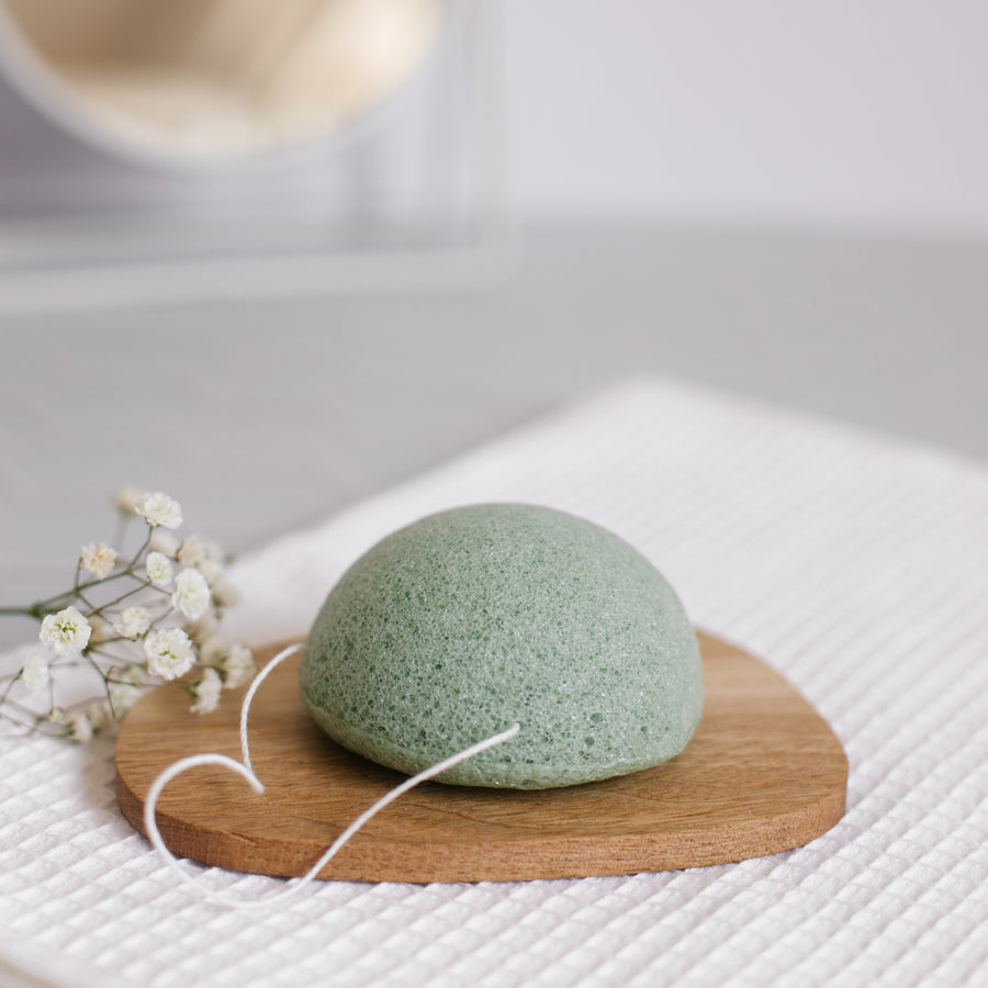 Natural sponge in Konjac - 6 colors available