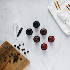 3 or 6 Nespresso reusable capsules