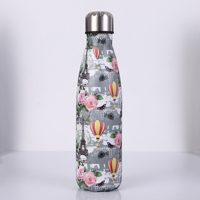Flamingo stainless steel thermos bottle 500ml - 17 designs