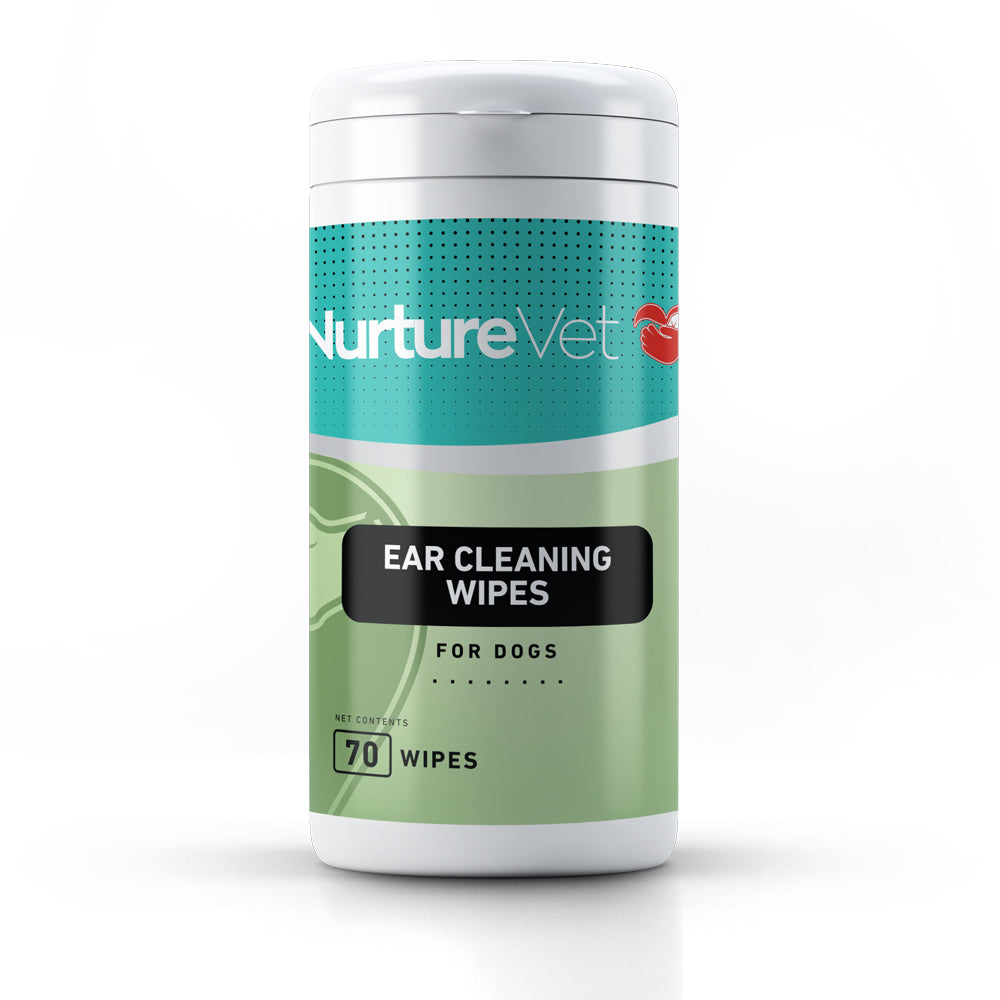 Ear Cleansing Wipes for Dogs