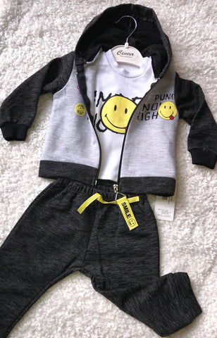 3 piece long sleeve sports set