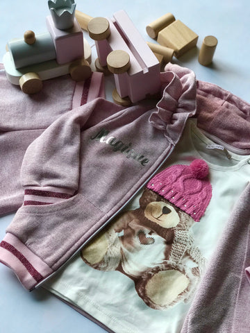 3 piece long sleeve Bear set
