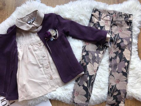 Lovely Long Sleeve 3 Piece Set