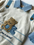 3 piece sweater bear set