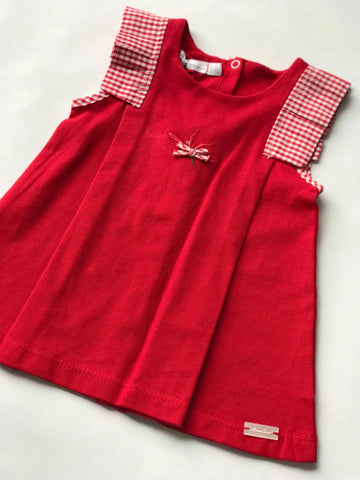 3piece red set with a a hat