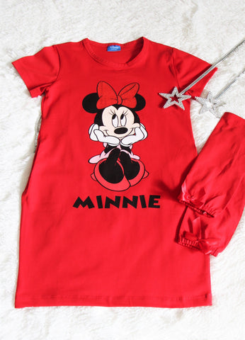 Red Minnie Mouse dress