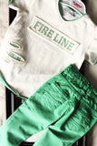 Green T-shirt and pants set