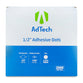AdTech 5653 | Industrial Adhesive Dots | 1/2 inch | Super High Tack | Medium Profile | 2000 Dot Roll