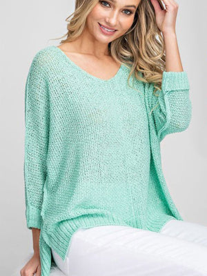 Mint to be Sweet Sweater