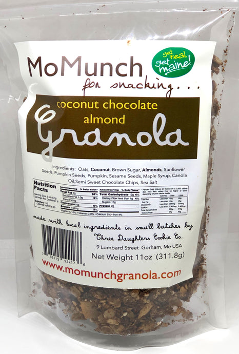 Chocolate Coconut Almond Granola