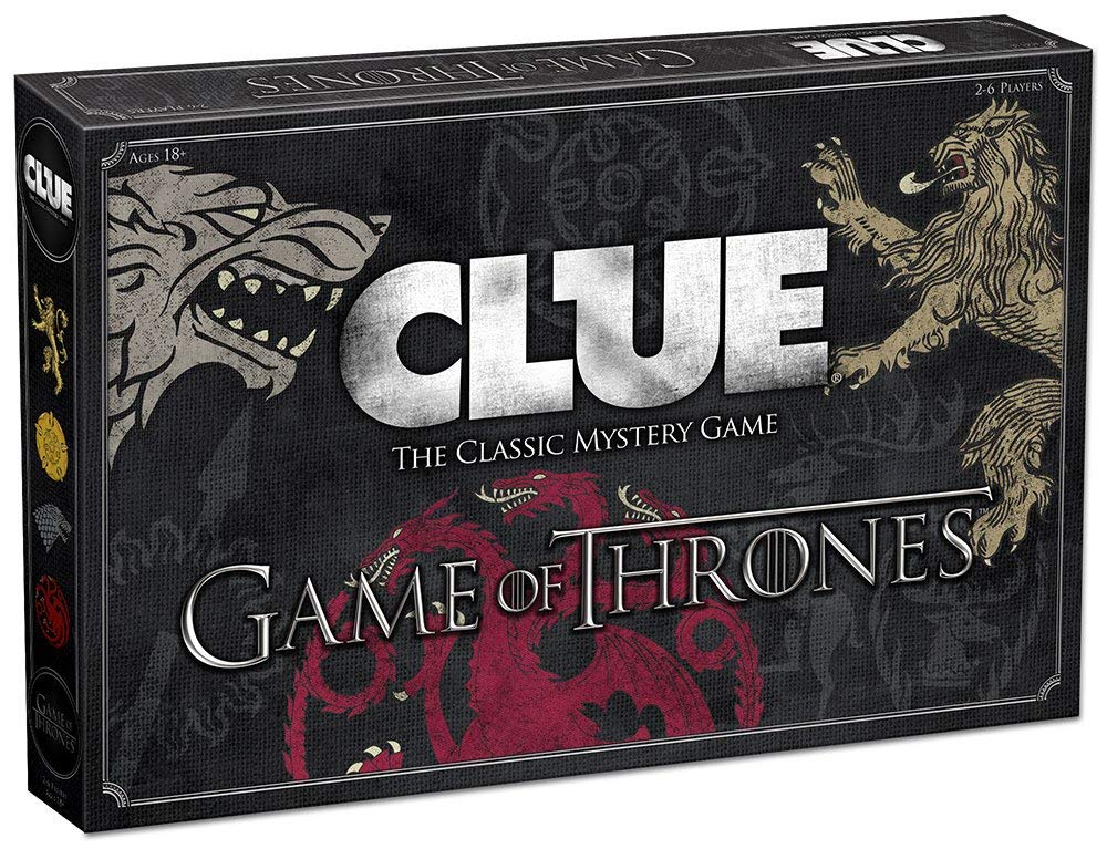 Game of Thrones Clue: The Classic Mystery Board Game