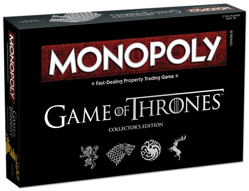 Game of Thrones Monopoly Box